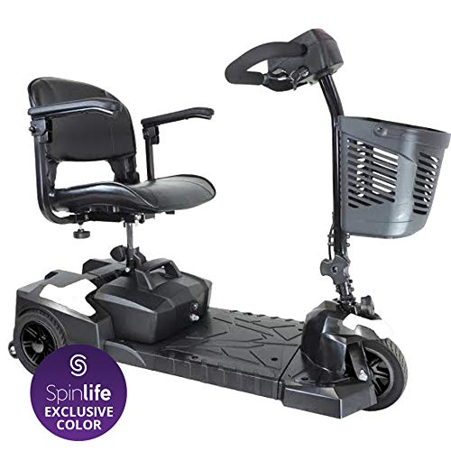 Drive Medical Scout Compact Travel Power Scooter, 3...