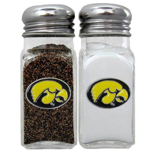 - NCAA Iowa Hawkeyes Salt & Pepper Shakers