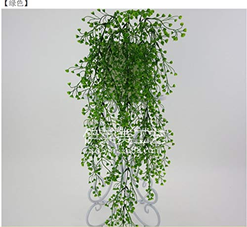 - ShineBear Artificial Flowers String for Valentine's Day Wedding Party Artificial Hanging Plant Pot Basket Indoor Outdoor Garden Decoration - (Color: A)