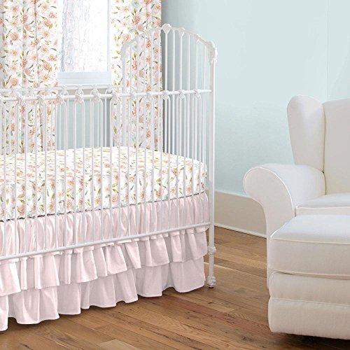 Carousel Designs Pink Hawaiian Floral 2-Piece Crib Bedding (Hawaiian Baby Crib Bedding)