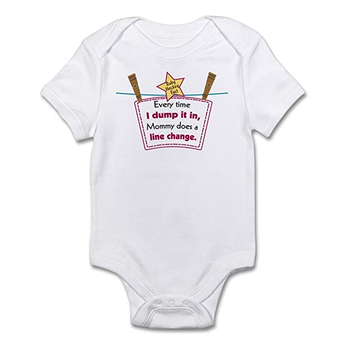 Amazon.com: CafePress – Línea cambiar Dump bebé – Body Bebé ...