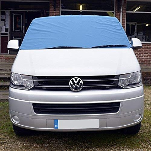 UK Custom Covers SW190BLUE Front Windscreen Wrap Cover BLUE