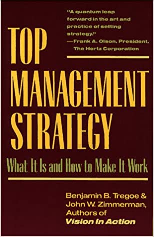 Download online Top Management Strategy: What It Is and How to Make It Work PDF