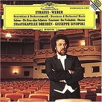 Ouvertüren und Orchestermusik von Weber und R. Strauss