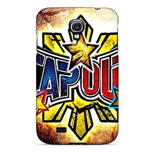 InesWeldon Samsung Galaxy S4 Protector Hard Phone Cases Customized High Resolution Tapout Pattern [cir12049HYwa]