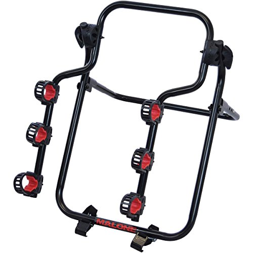 Malone Runway T3 Spare-TIRE Mount 3-Bike Carrier