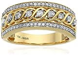 10k Yellow Gold Anniversary Ring (1/2 cttw), Size 6