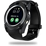 m-fit Smartwatch with SIM and Camera Card Slot Support, Analogue with Activity Tracker
