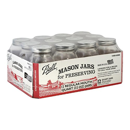 (Ball (Canning)), Jar Quart, 12 Count)