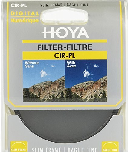 Hoya New Slim Frame Filter 43mm Cpl Circular Polarizer