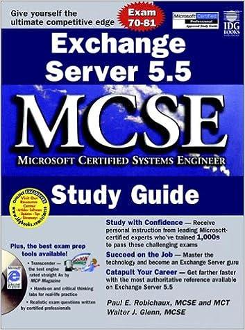 Microsoft Exchange Server 5.5 Resource Guide