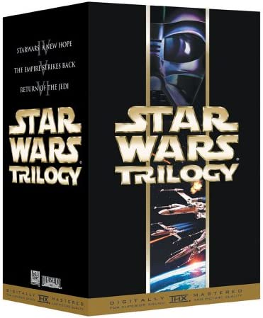 Amazon Com Star Wars Trilogy Vhs Mark Hamill Carrie Fisher Harrison Ford George Lucas Movies Tv