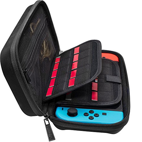 butterfox-nintendo-switch-hard-carry-case-with-19-game-cartridge-and-2-micro-sd-card-holders-black