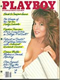 Playboy Magazine, October, 1987 (Vol. 34, No. 10)