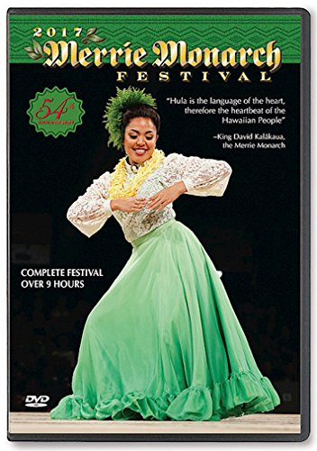 2017 Merrie Monarch 54th Annual Hula Festival 4-DVD SET by
