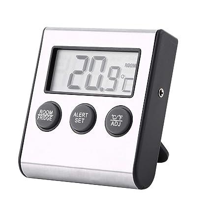 Asixx Termómetro Digital, Termómetro Digital para Frigorífico, Termómetro para Nevera, para Medir La