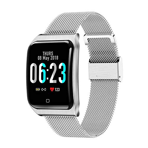 SMGPYXYSH Blood Pressure Monitoring and Other Health Features Watch Smart Bracelet Heart Rate Blood Pressure Monitoring Bracelet