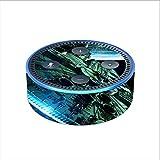 itsaskin Skin Decal Vinyl Wrap for Amazon Echo Dot 2 (2nd Generation) / Spaceship