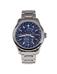 "ORIENT STAR ""World Time"" Automatic SAR Sapphire Power Reserve Watch Blue JC00002D WZ0021JC"