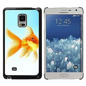 Paccase / SLIM PC / Aliminium Casa Carcasa Funda Case Cover para - The Goldfish - Samsung Galaxy Mega 5.8 9150 9152