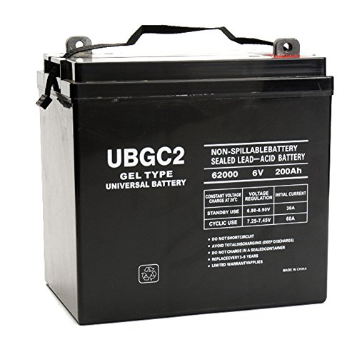 UBGC2 6V 200Ah GEL Battery for Magnum Energy MM612AE by Universal Power Group