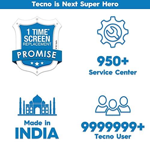 "TECNO Spark 7-6000mAh Battery 16 MP Dual Camera  6.52"" Dot Notch Display"