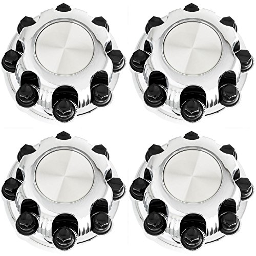 Set of 4 Replacement Aftermarket Center Caps Hub Cover Fits 16