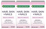Nature's Bounty Optimal Solutions Hair, Skin & Nails Formula, 180 Coated Caplets (3 X 60 Count) Review