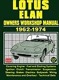 Lotus Elan Owner's Workshop Manual 1962-1974