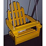 Prairie Leisure Kiddie Adirondack Chair Swing