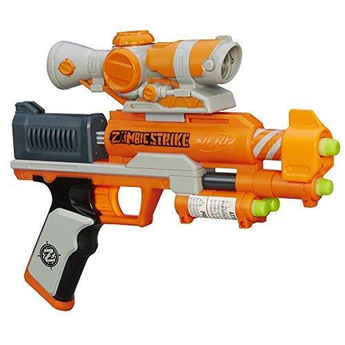 Nerf Zombie Strike ZED Squad Clear Shot Blaster [並行輸入品] B07JBCR2K8