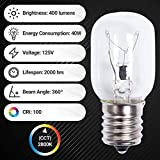 Ultra Durable 8206232A Microwave Light Bulb 40W E17