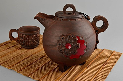 Unusual Handmade Ceramic Teapot Clay Teapot Design Kitchen Supplies Ideas  By MadeHeart | Buy Handmade Goods