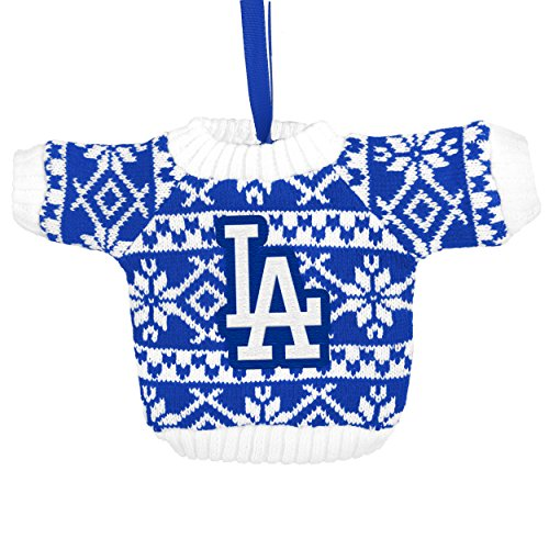 Los Angeles Dodgers Knit Sweater Ornament