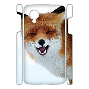 ZK-SXH - Red fox singing Custom 3D Case Cover for Nexus 5,Red fox singing DIY 3D Cell Phone Case