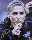 Alex Morgan Signed Usa Olympic Gold 16x20 Photo JSA - Authentic Signed Autograph