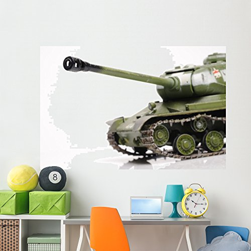 (Wallmonkeys Soviet Ww2 Tank Wall Decal Peel and Stick Graphic (72 in W x 48 in H) WM280009)