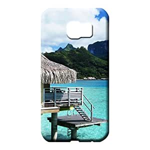 samsung galaxy s6 Highquality PC pattern phone cover skin bora bora bungalow
