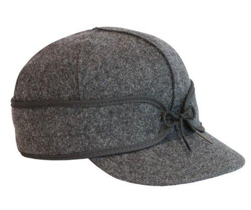 Stormy Kromer Mens Original Wool Cap,Charcoal,7.75
