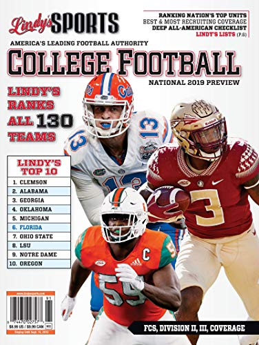 Lindy's 2019 National College Football Preview - Florida / Florida State / Miami ()