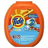 Tide PODS Liquid Detergent Pacs, Ocean Mist Scent, 81 count