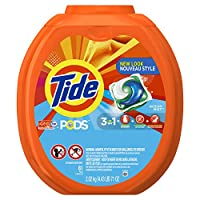 Tide PODS Ocean Mist Scent HE Turbo Laundry Detergent Pacs, 81 count