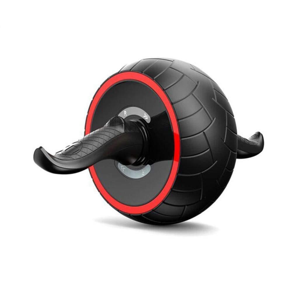 Olydmsky Wheel Bauchtrainer Abdominal-Zyklus Elastische ABS Rad Home Rad stumm Multifunktions Fitness Ausrüstung