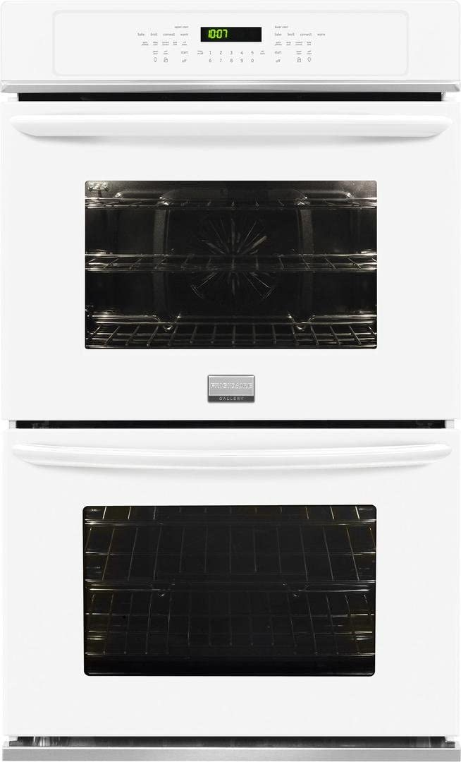 """Frigidaire FGET3065PWGallery 30"""" White Electric Double Wall Oven - Convection"""