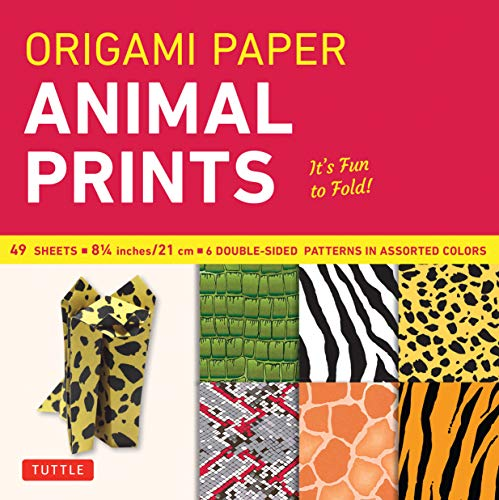 Safari Print Paper (Origami Paper - Animal Prints - 8 1/4