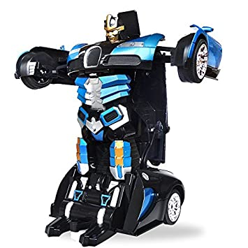 buy the flyers bay one button transforming car into robot with cool