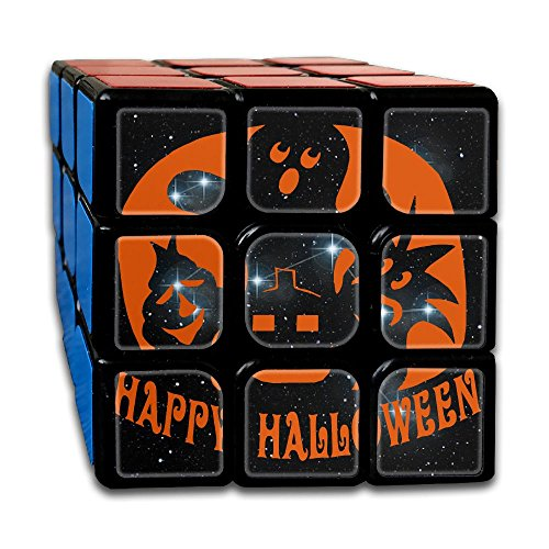 D Generation X Halloween Costume (HAPPY HALLOWEEN Best-selling 3x3 Fidget Cube Super-durable With Vivid Colors Bearing Toy Adults & Children For Killing Time Or Relaxation)