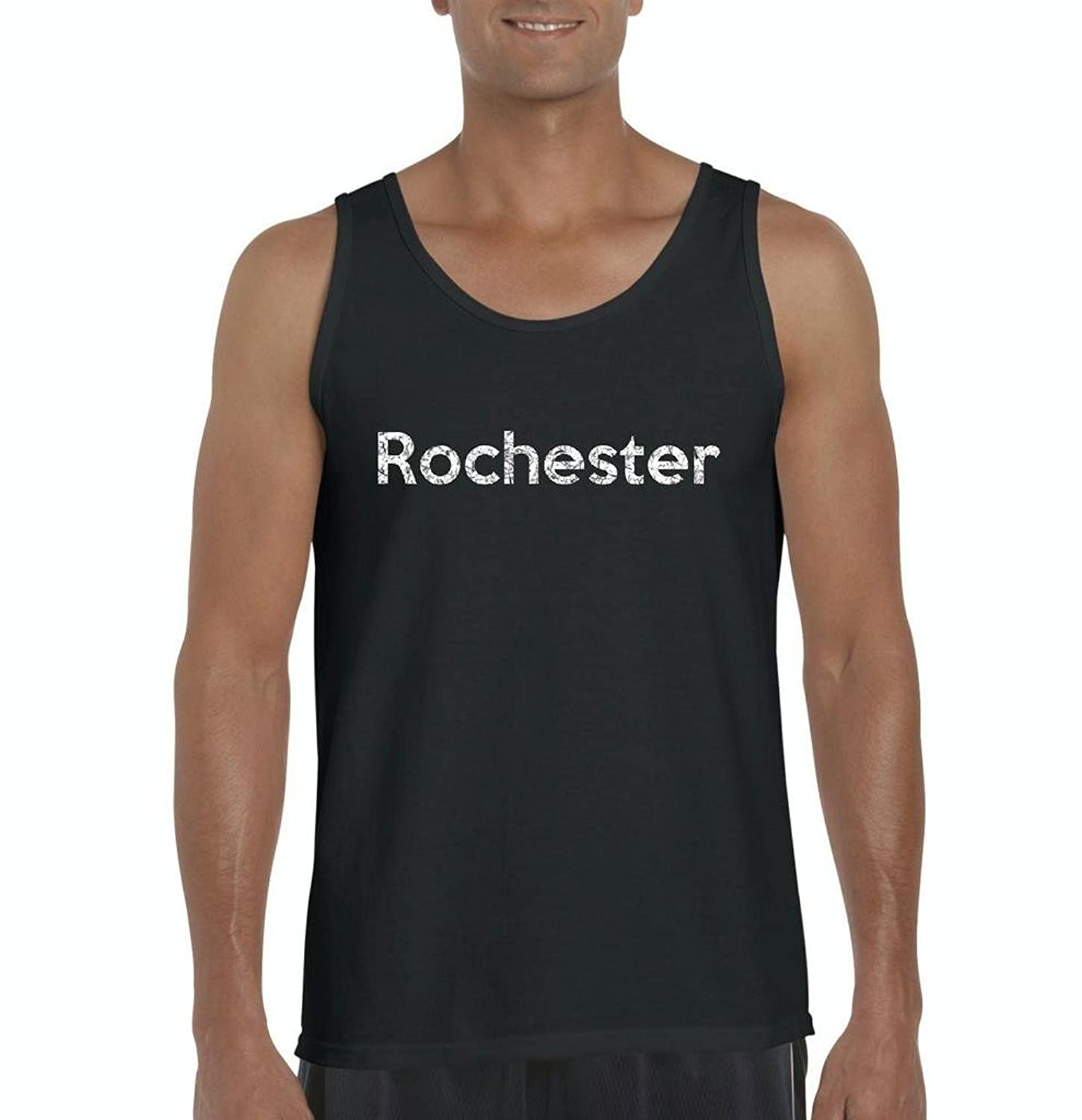 Amazon.com: Ugo Rochester MN Map Minneapolis Flag Golden Gophers Home University of Minnesota Mens Tank Top: Clothing