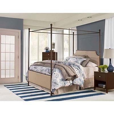 McArthur Canopy Bed Set - Bronze Finish - King - Bed Frame Not Included, Bronze -  - bedroom-furniture, bedroom, bed-frames - 51PKMqjmSUL. SS400  -