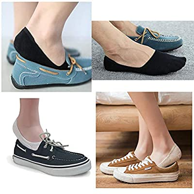 LouKeith Womens No Show Socks Low Cut Thin Liner Non Slip Flat Boat Casual Socks at  Women's Clothing store